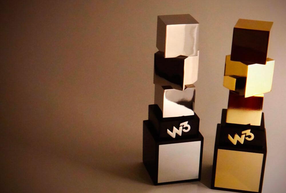 Evol Wins a W3 Gold Award